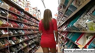 Strange Things Horny Girl Put In Her Holes For Pleasure vid-11