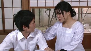 Naughty Asian housewife gets it hard and fast