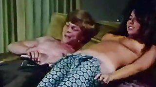 Young Couple Fucks at House Party (1970s Vintage)